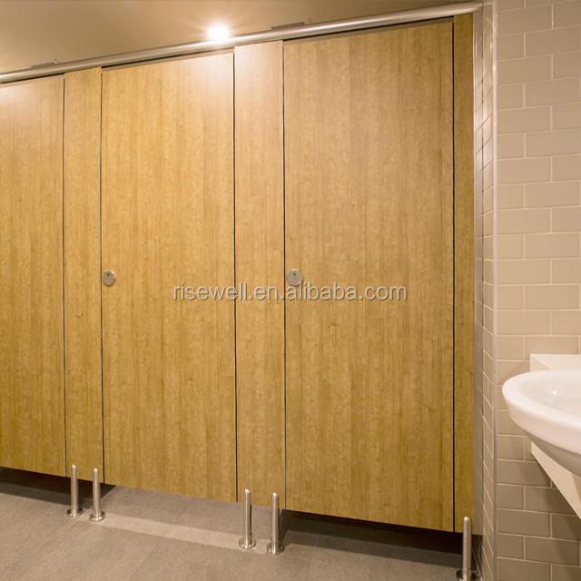 Debo phenolic resin panel partition toilet cubicles