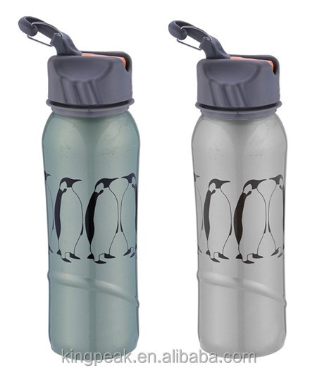 New Design 750ml Stainless Steel Water Bottle with Flip Straw/Eco freindly wide mouth drink sports bottle