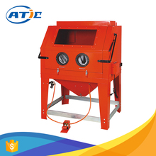 Portable sandblaster equipment powder coated, industrial export quality electric sandblaster