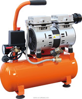 Light weight low noise and oiless air 6L air compressor