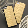 Custom 100% Real Python Skin Leather Case for Iphone 5s