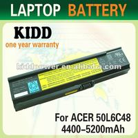Laptop battery extender for Acer aspire 360X/3610/361X/3680/5030/503X/5500/5550/555X/5570/557X/5580/558X for travelmate 2400