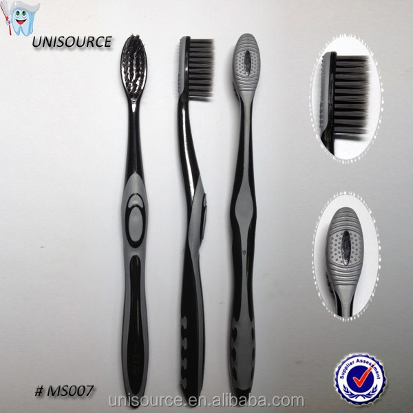 Active charcoal Soft bristle Adult toothbrush