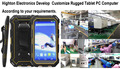 Highton Electronics Make Develop Customize ODM New Rugged Windows Tablet