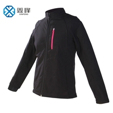 Custom Winter Black Sport Woman Jacket Coat