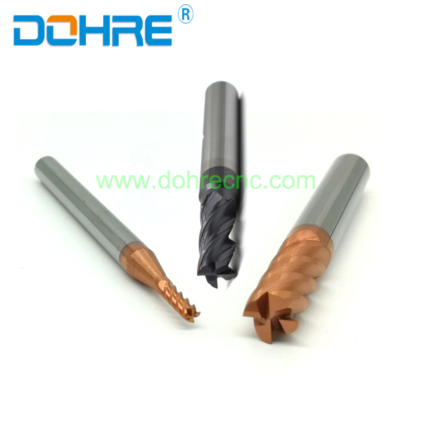 DOHRE High Precision Square End Mills For Milling Production Line