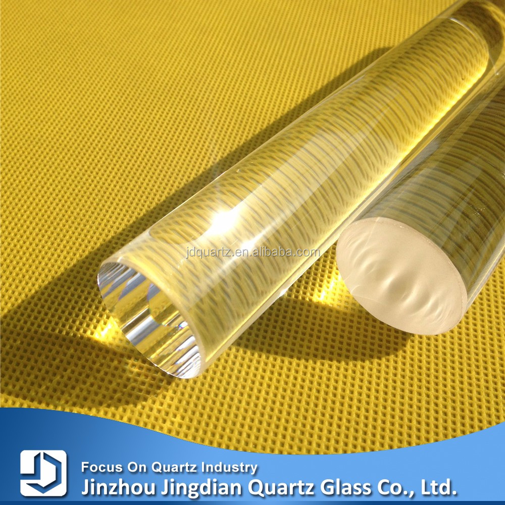 JD Clear Customized Glass Borosilicate Rod