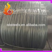 SWRCH steel wire rod,6.5mm wire rod coil,hot rolled steel wire rod