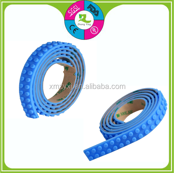Block Building Tape Compatible Baseplate Silicone Tape