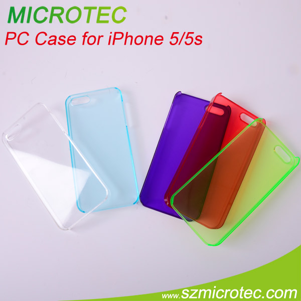 good quality plastic tpu case for iphone 5