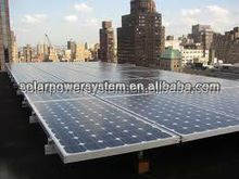 6000W Solar panel system for roof mounting mini solar powered led light