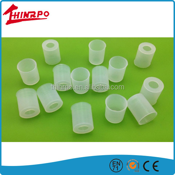 Custom small size thin silicone cover for light bulb covers