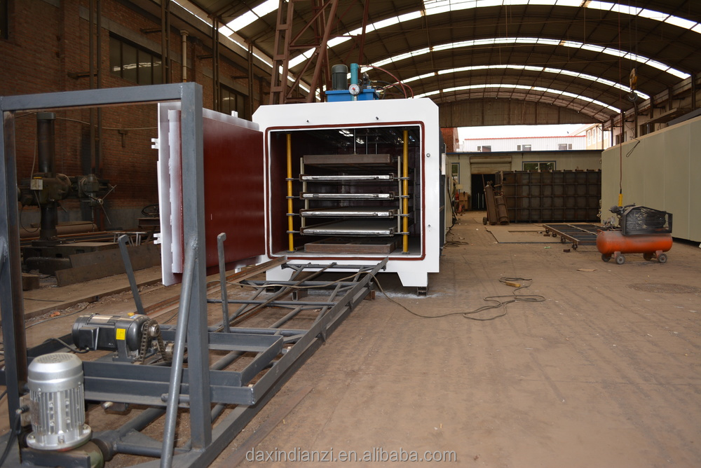 High frequency vacuum veneer drying machine for plywood core veneer dryer