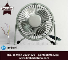 4 Inch USB mini table fan 2013 NEW design