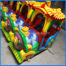 2016 hot sale for kids outdoor/indoor playground electric amusement rides small track train