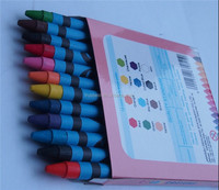 12colors crayon for children , Korea Stationery non toxic wax crayon