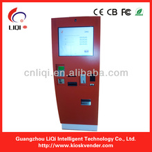 Outdoor Electronic Payment Terminal Kiosk With Cash Dispeser