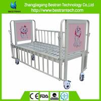BT-AB002 China manufacturer CE ISO medical manual cartoon children bed for hospitals