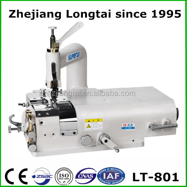 LT-801 leather skiving double needle sewing machine for sale