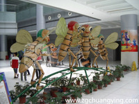 2016 hot High quality animatronic insect to sale