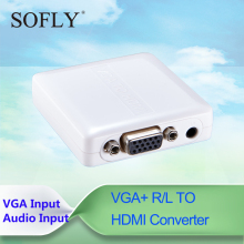 Full 1080P Hot Selling Mini VGA HDMI Adapter VGA TO HDMI Converter