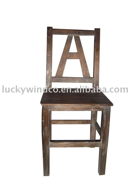 luckywind shabby chic home decorative wooden chair