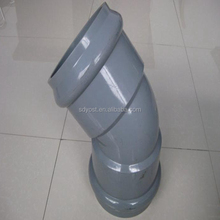 45degree upvc pipe fittings upvc pipe fittings elbow for water supply