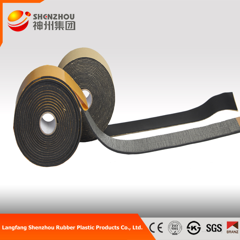 NBR or PVC Rubber Foam Tape insulation price