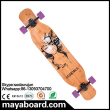 Hot selling transparent grip tape dancing longboard skateboard
