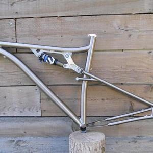 Factory supply mtb travel bmx titanium alloy bike frame for Southeast Asia