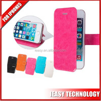 Hot selling new product women wallet / leather case for iphone 5