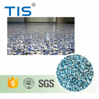 Industrial Floor Epoxy Granite Flooring Flakes Paint