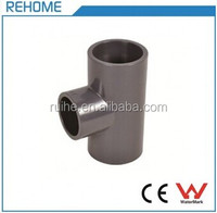 PVC Pressure Pipe Fittings Tee Joint SCH80 ASTM standard Best Quality