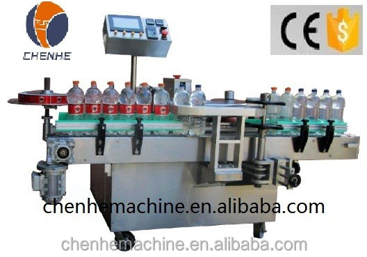 CH-100 Automatic Hot Sol Labelling Machine For Sticker Round Bottle