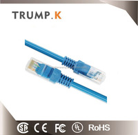 High quality rj45 spiral network cat5e patch cable Unshielded 8P8C
