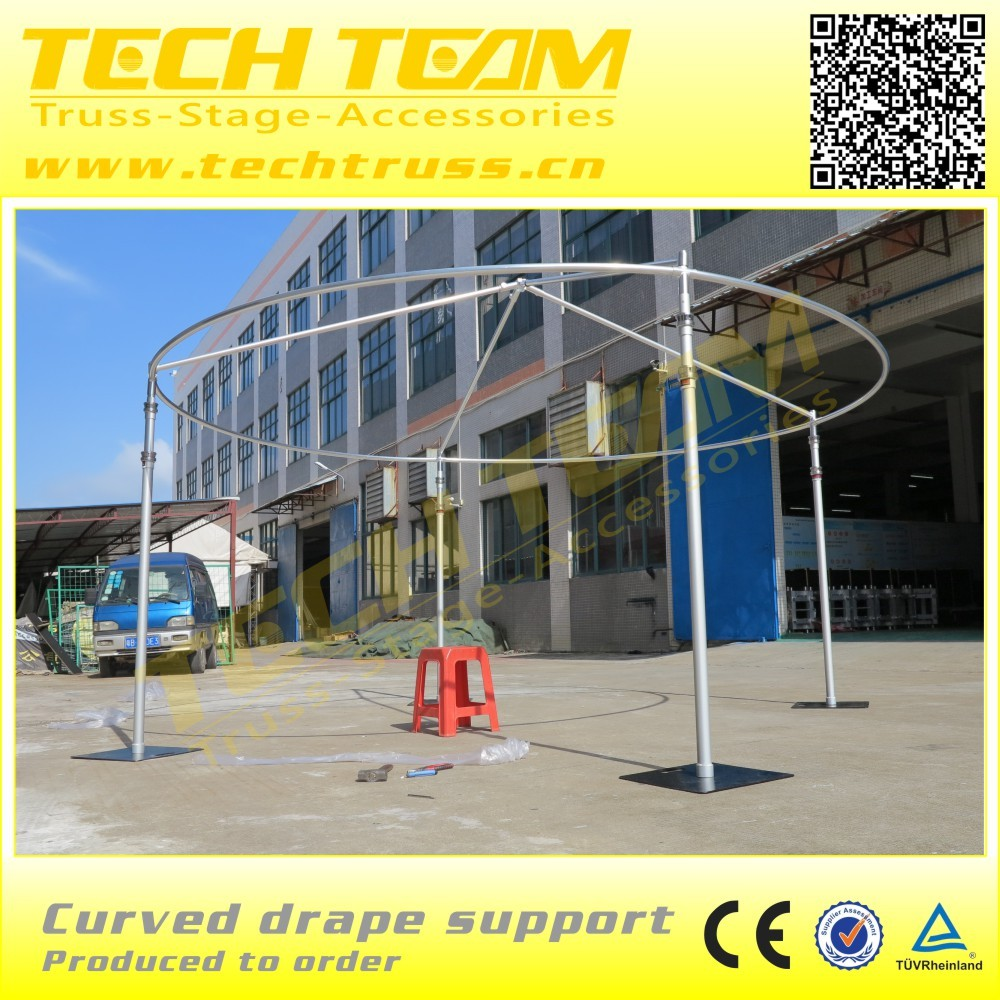 Pipe and drape For Wedding System Telescopic Pole