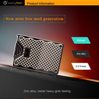 Most fashionable and mini Q box vape mechanical mod e cigarette with cheap price