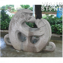 Decoration Garden Stone Mother and Child Monkey Statue