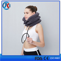 3 Layers Adjusable Manual Inflatable Cervical Air Neck Traction Device