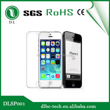 0.2mm 9H 2.5D shock proof glass screen protector for iphone 4/4s 5/5s 6