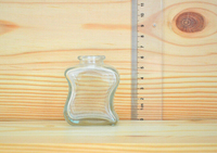60ml Allure perfume spray glass bottle scent glass bottle with soft cork cap