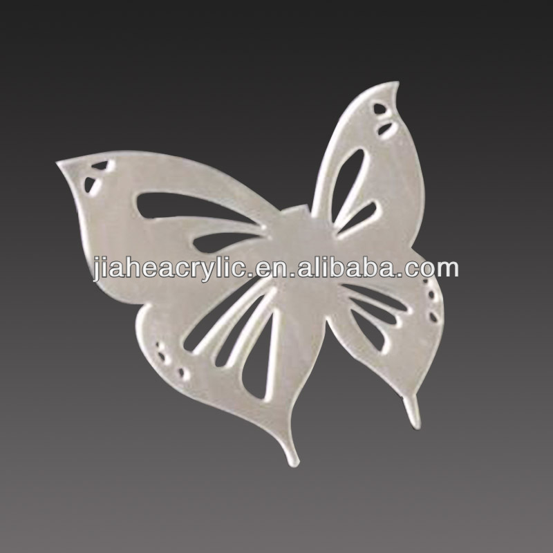 Butterflr shape acrylic gifts and craft supply