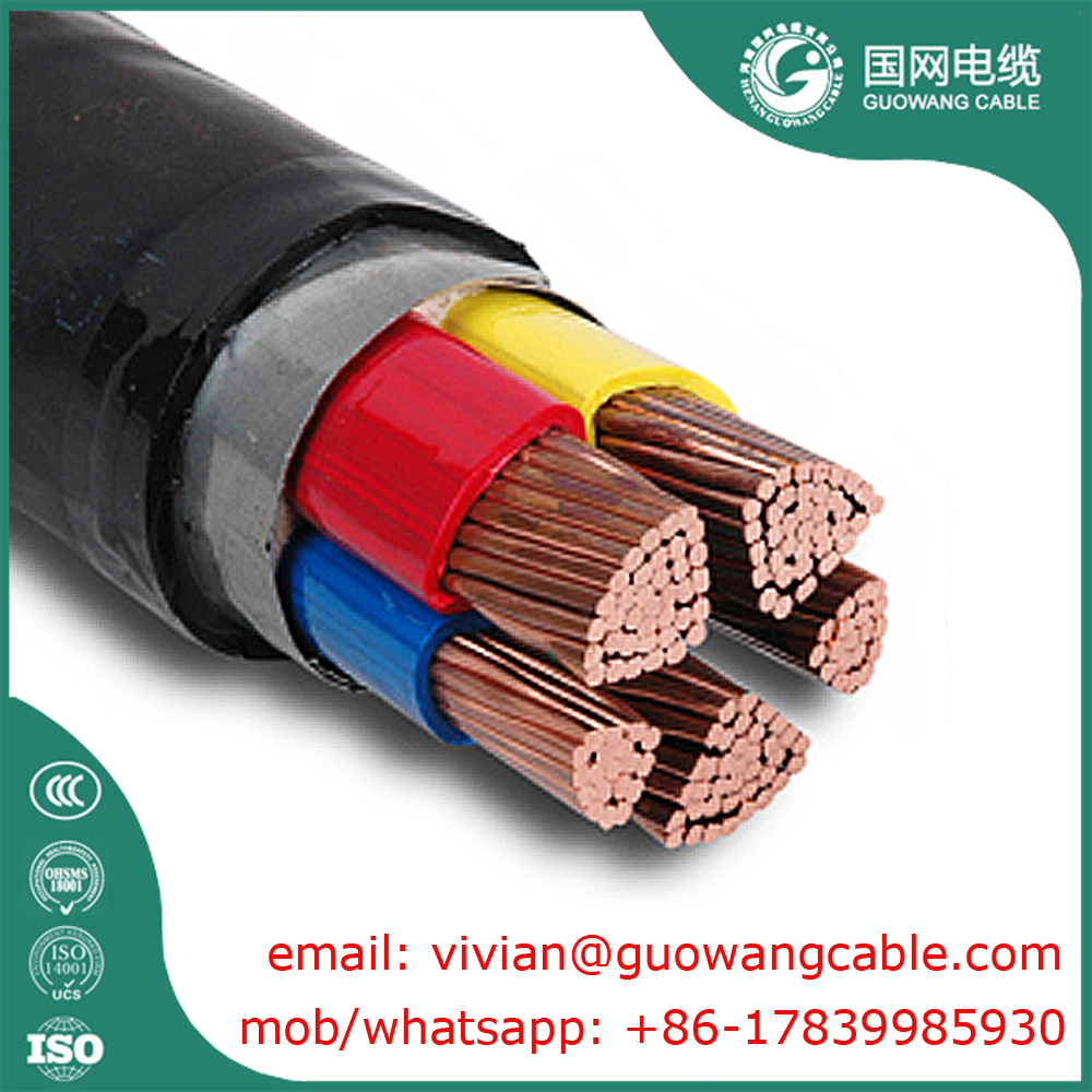Cu / Al Conductor Un Armoured Cable PVC Insulated 120 Sq mm 2 Years Warranty