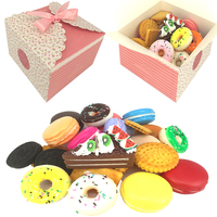 Custom Design Small Wedding Favor Box Candy Box with Ribbon Promotional Price on Sale