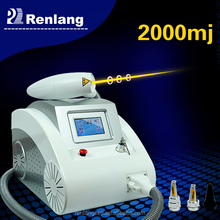 Alibaba Express! Q Switch nd Yag laser tattoo removal system machine/laser removal tattoo
