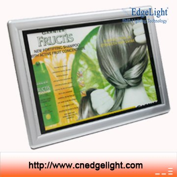 Edgelight PF3 <strong>led</strong> acrylic light panels black ABS <strong>frame</strong> border <strong>advertising</strong> light boxes outdoors