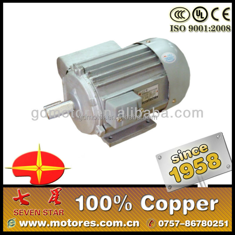 Capacitor running ac blower electromotor
