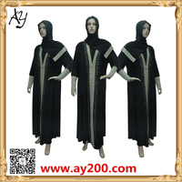 Abaya Sale With Factory Price Latest Design Muslim Woman Long Sleeve Maxi Dress