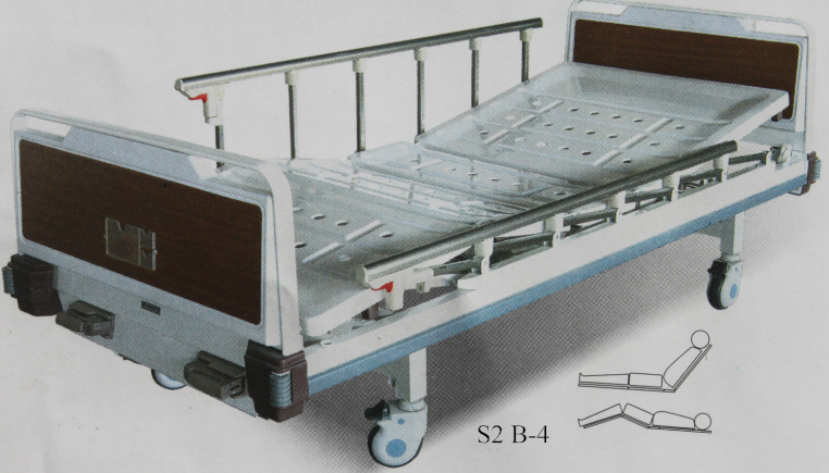 OEM medical beds 3 crank manual hospital beds