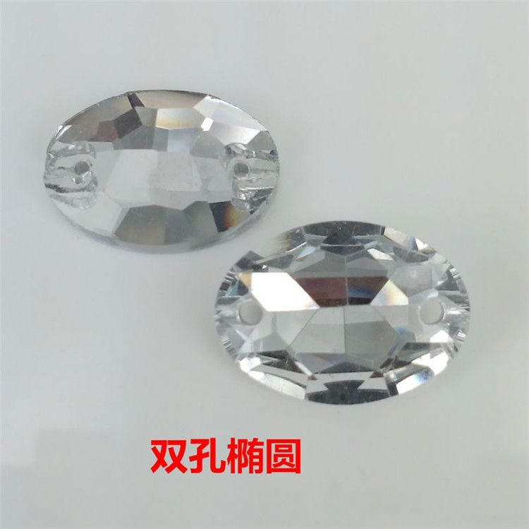 TOP SALE attractive style flatback loose Diamond crystal with different size